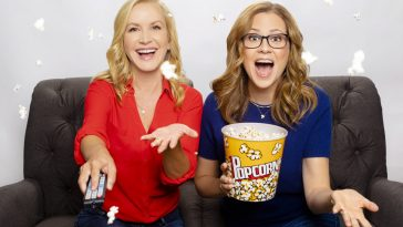 Jenna Fisher et Angela Kinsey / actrice The Office